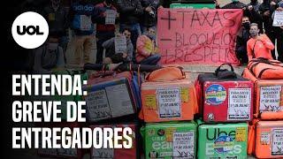 GREVE DOS ENTREGADORES DE APLICATIVOS ACONTECE EM TODO BRASIL; ENTENDA O MOVIMENTO BREKEDOSAPPS
