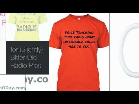 Funny T-Shirts Coffee Mugs for Radio Pros - Jocks - Programmers