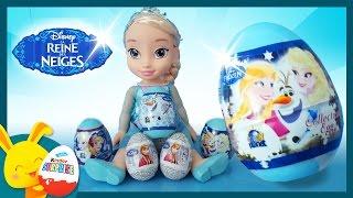 Oeufs surprises Reine des neiges - Elsa et Anna - Touni Toys