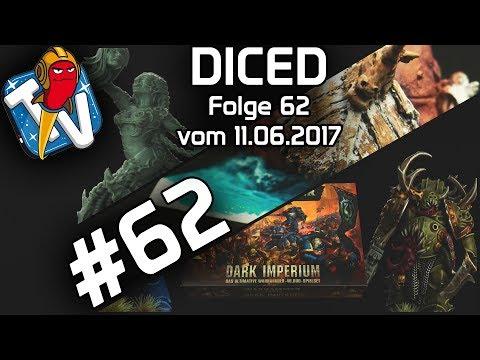 DICED - Die Tabletopshow auf Rocketbeans TV # 62 | Warhammer 40K | Raging Heroes | DICED