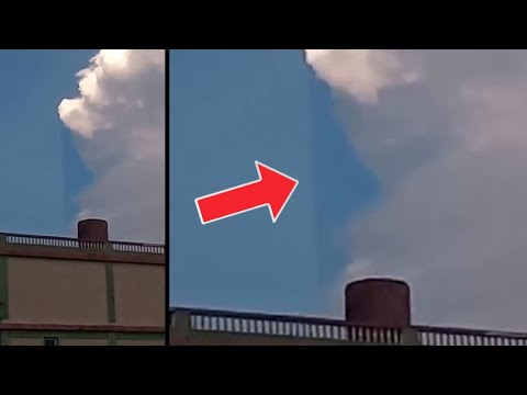 Glitch in the matrix! Many vibrating UFOs seen in Mexico