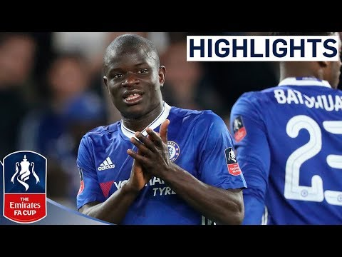 Chelsea 1-0 Manchester United - Emirates FA Cup 2016/17 (QF)   Official Highlights