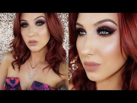 Purple Smokey Cat Eye | Fall Makeup Tutorial