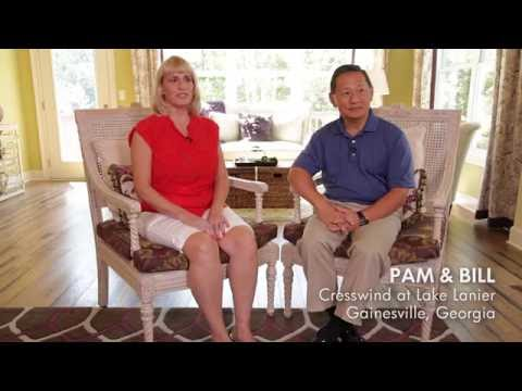 Cresswind at Lake Lanier Residents Pam and Bill talk living Active Adult