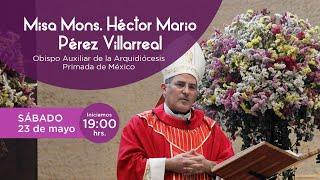 Santa Misa presidida por Mons. Héctor Mario Pérez. 23/05/2020