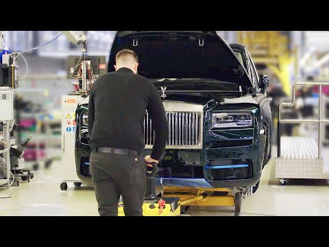 Rolls-Royce Factory 2020 ? The Most Luxurious Car Factory