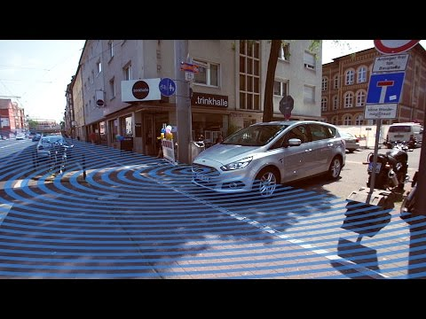 The Car That Can See Around Corners