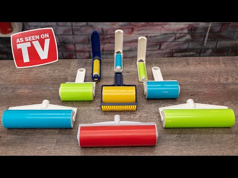 As Seen On TV Lint Rollers TESTED!