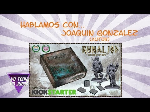 Runaljod: The sound of the runes - Hablamos con Joaquín González - Yo Tenía Un Juego De Mesa #55