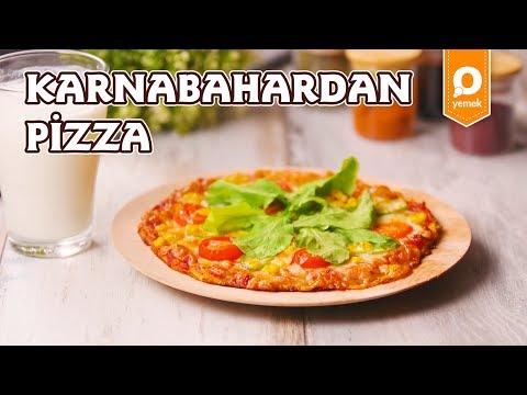 Karnabahardan pizza - sağlıklı tarifler