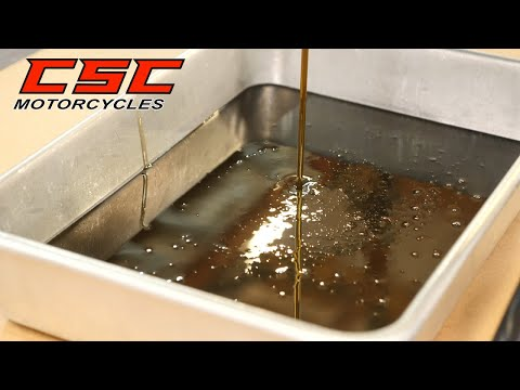 Oil Change Tutorial for the CSC SG250 and TT250