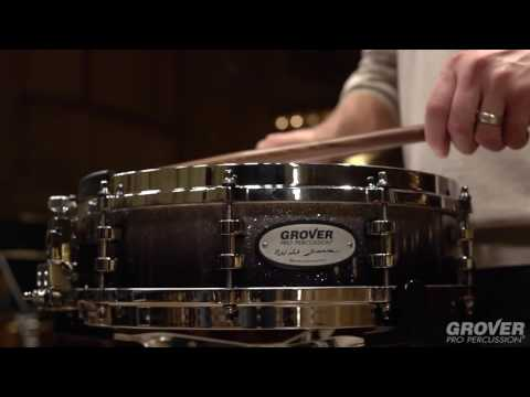 Grover Pro Will James Signature Snare Drum