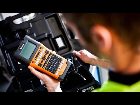 Brother PT-E550WNIVP labelprinter til netværksinstallatører, elektrikere og andre håndværkere