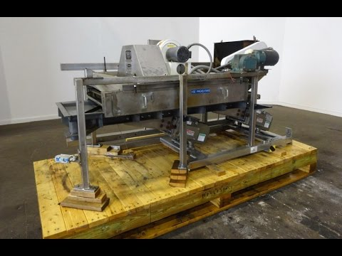 Used- FMC Syntron Electromagnetic Vibratory Feeder, Model FH-22-C-DT - stock # 48784007