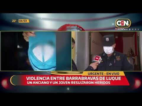 Nuevo episodio de violencia entre barrabravas de Luque