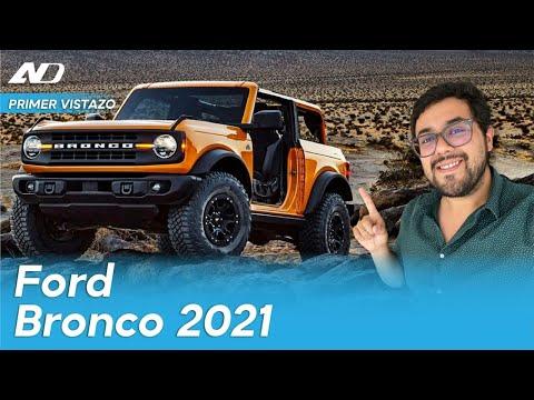 Ford Bronco - El nuevo juguete que todos queremos   Primer vistazo digital