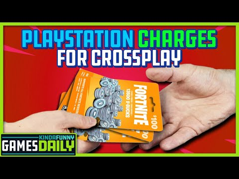PlayStation Charges Epic for Crossplay - Kinda Funny Games Daily 05.04.21