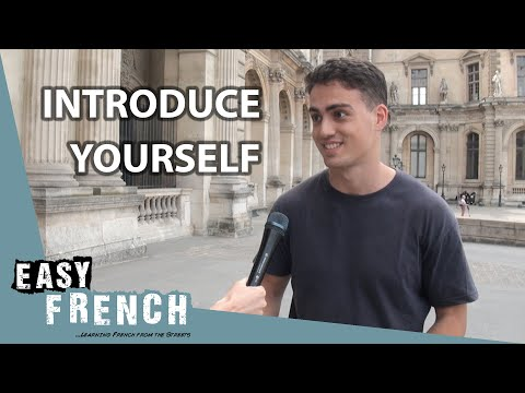 Introduce yourself in French | Super Easy French 62 photo