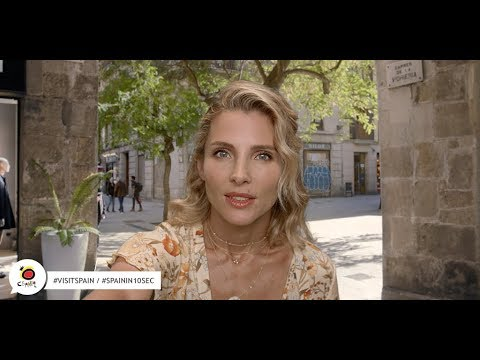 Is it possible to fall in love in 10 sec? Elsa Pataky #SpainIn10Sec