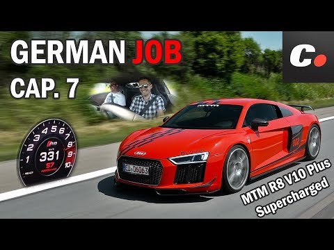 GERMAN JOB Cap. 7 | MTM R8 V10 Plus Supercharged | Audi R8 de 802 CV a más de 300 km/h | coches.net