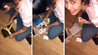 Actress Anupama Parameswaran Latest video | Anupama Parameswaran Recerved Fans GIFT | IG Telugu - IGTELUGU