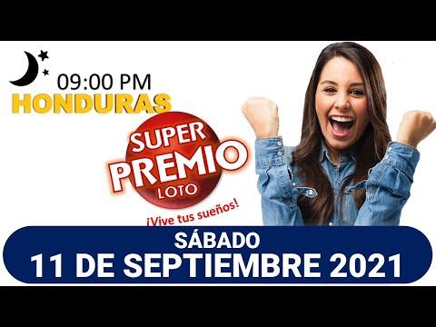 Sorteo 9PM Super Premio Loto de Hoy, SÁBADO 11 de septiembre del 2021  