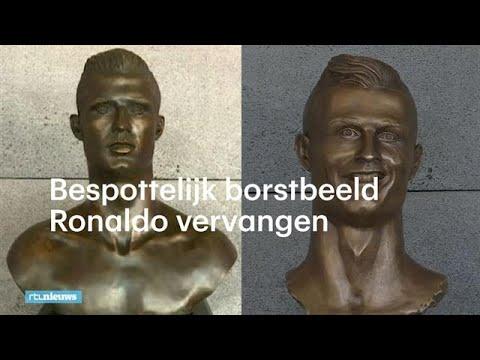 Bespottelijk beeld Cristiano Ronaldo in alle stilte vervangen - RTL NIEUWS