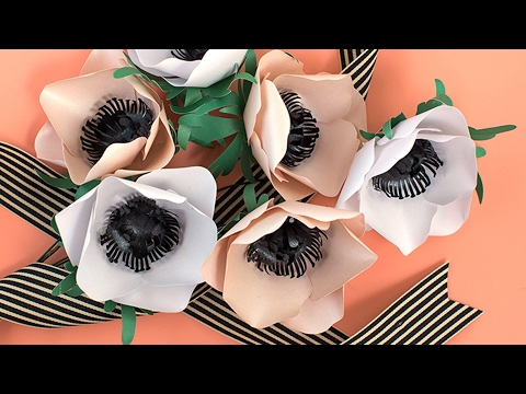 How to Make a Paper Flower Anemone