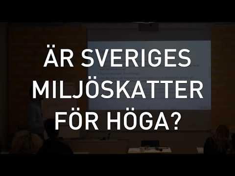 Är Sveriges miljöskatter för höga? (Del 4/5)