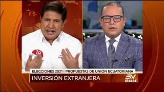 ENTREVISTA COMPLETA | Ce?sar Rodri?guez, candidato a asambleístas por el mov. Unión Ecuatoriana