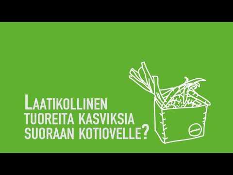 Kasvimaani - Nordic Shipping App varmistaa kotiinkuljetuksen