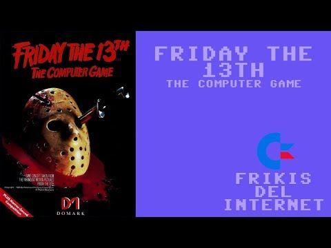 Friday the 13th (c64) - Walkthrough comentado (RTA)
