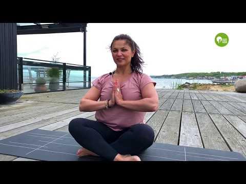 Yogaträning med Dragana
