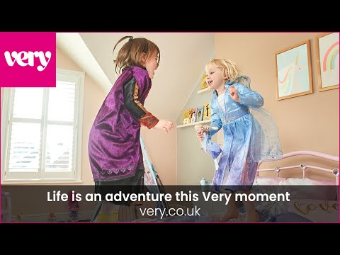 very.co.uk & Very Voucher Code video: Life is an adventure this Very moment