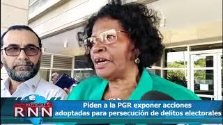 Piden a la PGR exponer acciones adoptadas para persecución de delitos electorales