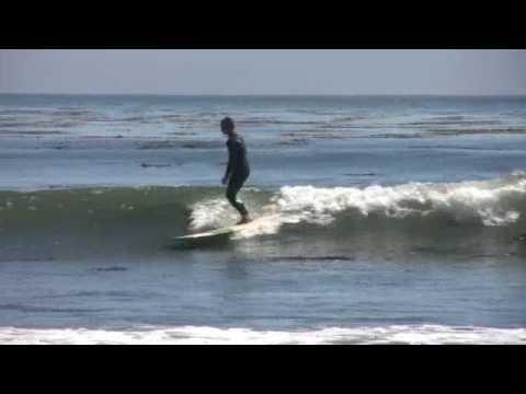 Seth Bowman longboarding