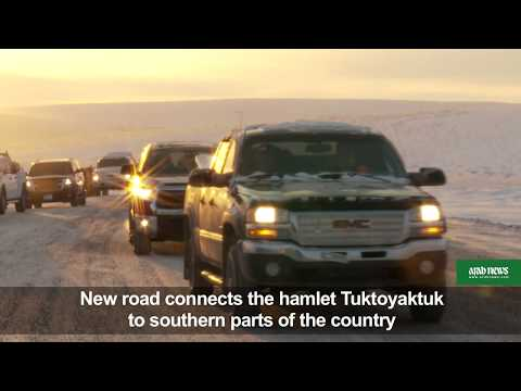 First Canada highway to Arctic officially opens