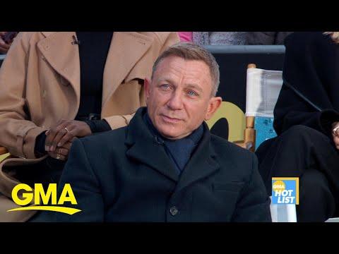 'GMA' Hot List: Daniel Craig talks about stunts on the new 007 film, 'No Time To Die' l GMA Digital