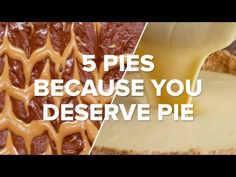 5 Pies Because You Deserve Pie ? Tasty Recipes