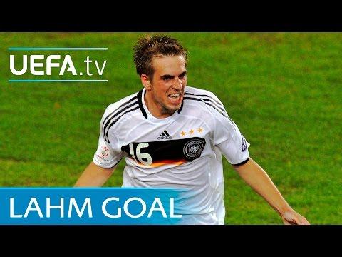 Philipp Lahm goal - Germany v Turkey - UEFA EURO 2008