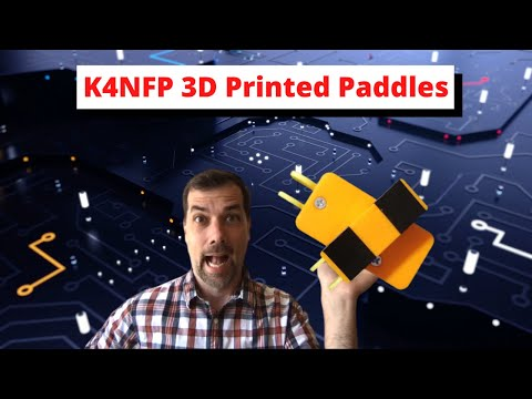 K4NFP 3D Printed Paddles - Get Yours!