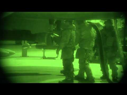 DFN: Airmen Fuel and Maintain Aircraft, Night Vision, AZ, UNITED STATES, 02.13.2018