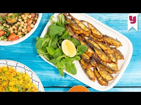 Aile Menümüz Bu Kez Kuzey Afrika'dan! Her Yemeğin Yanına Enfes Harissa Sos Tarifi & Balık Sofrası