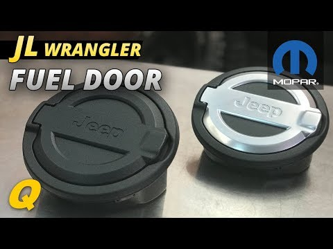 Mopar Fuel Door Review for 2018 Jeep Wrangler JL