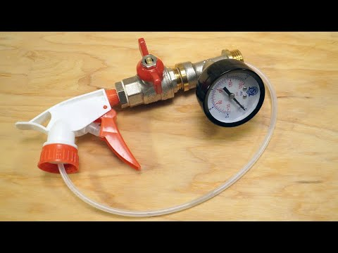 Полезный инструмент из пульверизатора.  Ремонтные советы. photo