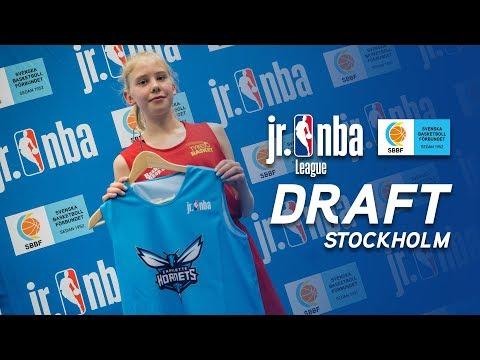 Jr. NBA Draft i Stockholm 2018!