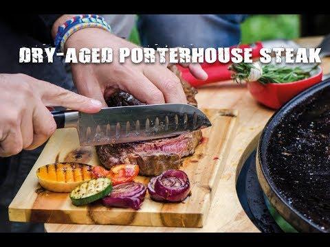 Dry-Aged Porterhouse steak met gegrilde groente | Fire&Food TV
