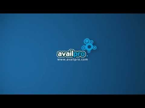 Availpro products presentation EN 2016