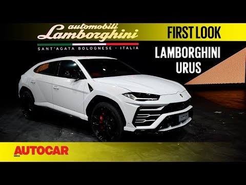 Lamborghini Urus India   First look   Autocar India