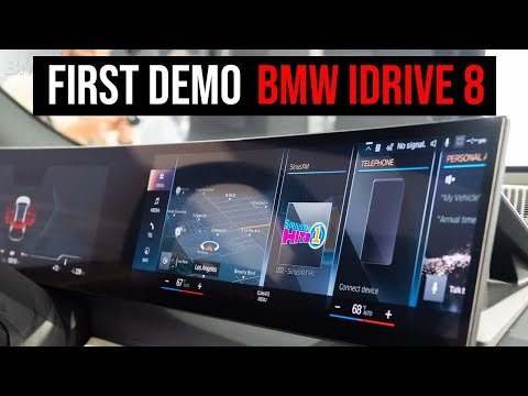 BMW iDrive 8 Demo | The Most Important Features
